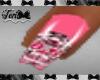 Pink Sugar Skulls Nails