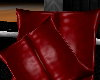 PS Red Throw Pillows