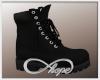 Camo Boot Black Nickel