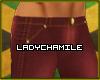 Burgundy Drainpipe Jeans