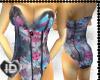 Ka-pow! color corset!