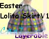 (Cag7)EasterLolitaSkirt1
