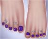 -S- Perfect Purple ToesS