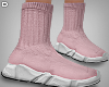 D. Pink Sock Shoes