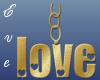 Gold Love Chain