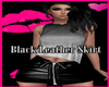 Je Black Leather Skirt