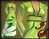 Lime Floral Maxi Dress