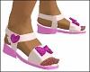 Pink Girls Sandals