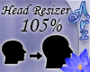 [Arz]105% Head Resizer