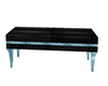poseless bench black/blu