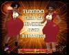 DM:TUXEDO RED-BMXXL