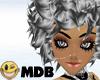 ~MDB~ B & W BRIANNA HAIR