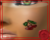 *U Cherry Face Tattoo