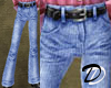 Belted Jeans (denim)