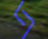 Futhark Rune 1 (blue)