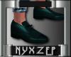 No Socks Mens Shoe Teal