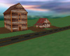 farm house & barn