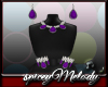 Grape Crush Jewelry Set