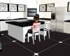 White &black Kitchen