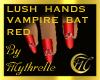 LUSH VAMPIRE BAT NAILS