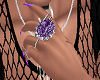 *S* Purp Victorian Ring