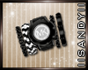 MK Watch Set Black R