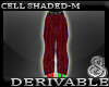 Cell Shaded Pants Mesh M