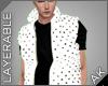 ~AK~ Puff Vest: White