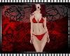 lustly red Bikin