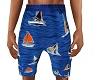 Sailboats Beach Shorts