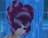 Heart Purple Hair