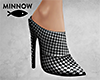 Houndstooth Mules