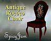 Antq Rococo Chair Blkrse