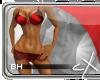 .cX.Satin{Ruby} BH
