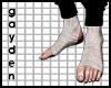 G   bandaged feet
