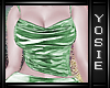 ~Y~Glamour Emerald Top
