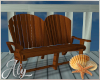 Ocean Blue Deck Chair 1