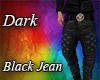 Dark Black Jean