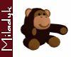 MLK Stuffed Monkey