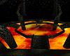 Lava cave arena.