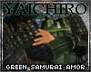 Green Samurai Armor