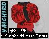 Crimson Hakama