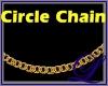 ~L~18K Circle Chain