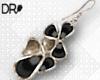 DR-  Onyx earrings