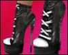 Isa Heels Boots Black