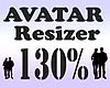 Avatar Resizer 130%