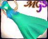 MG Elegant purple dress