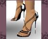 (LF) Black Spike Sandles