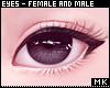 金. Black Eyes