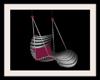 Animated Grey/Pink Swing